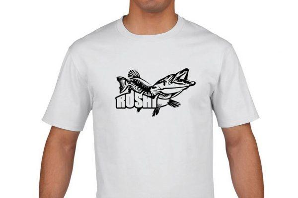 camiseta algodon roshi fish