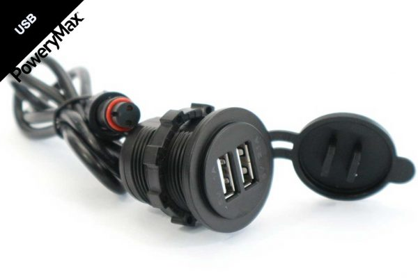 cargador doble USB powerymax roshi fishing