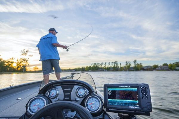 hook reveal lowrance for roshi fishing